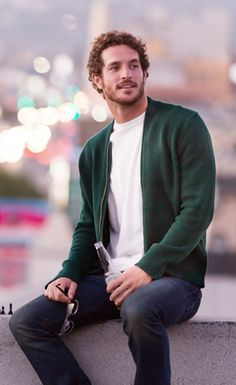 """Justice Joslin in """"The Look: Californian Cool"""" shoot in Los Angeles by Antony Crook for Mr Porter Journal, October 8, 2013 Issue. http://www.mrporter.com/journal/journal_issue135/1#1"""
