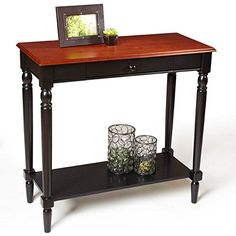 Convenience Concepts French Country Coffee Table With Shelf - Convenience concepts french country coffee table