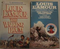 The Trail to Crazy Man/The Walking Drum by Louis L'Amour (1992 Paperback)