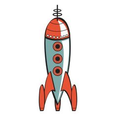 Rocket - Inspiration for bedroom wall