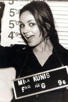 Mila kunis is my girl crush!