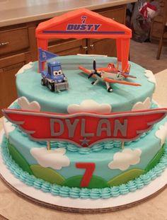 Disney Planes cake Planes Birthday, 4th Birthday, Birthday Parties, Birthday Cakes, Birthday Ideas, Disney Planes Cake, Kids Party Themes, Party Ideas, Themed Cakes
