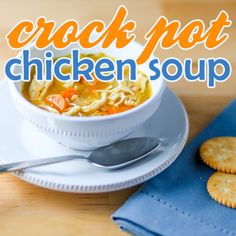 Chicken soup isn't just good for your soul, it's great at soothing cold and flu symptoms as well.