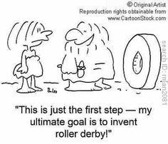 #Roller derby