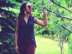 OUTFIT: ROOTLESS TREEwww.prizmahfashion.com #outfit #nature #garden #stuttgart #fashionblogger #prizmahfashion #germany #german