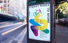 Toko – Dynamic identity for Sydney Rides Festival