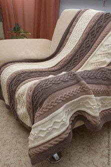 Knitting Blanket Loom Afghan Patterns Ideas For 2019 Loom Knitting Patterns, Afghan Patterns, Crochet Blanket Patterns, Knitting Designs, Knitted Afghans, Knitted Throws, Cable Knit Blankets, Knit Pillow, Pinterest Pinterest