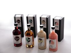 Traditional alcohol Branding Package