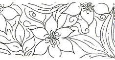 Acrilex • Tintas Artísticas - Galeria de Riscos - Barrados