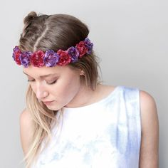 headband trend is one that never really goes out of style, Headband Hairstyles, Out Of Style, Going Out, Hair Accessories, Hair Styles, Gypsy, Beauty, Fashion, Hair Plait Styles