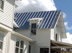 Galvalume Metal Roofing Architectural Exterior Surfaces