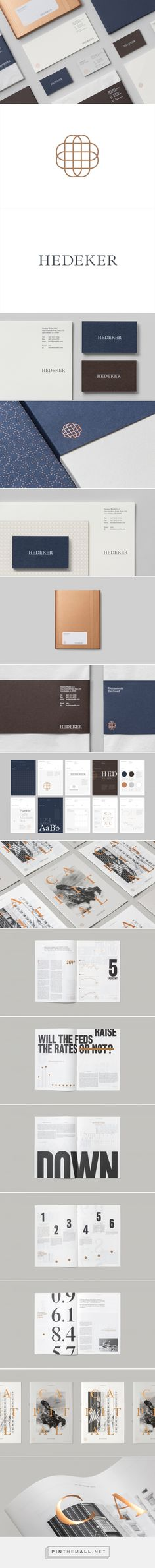 New Brand Identity for Hedeker by Socio Design — BP&O - created via https://pinthemall.net