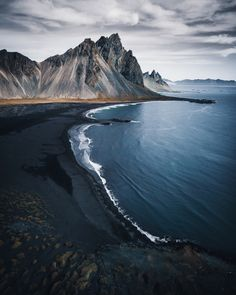 Landscaping With Rocks - How You Can Use Rocks Thoroughly Within Your Landscape Style Hofn Black Sand Beach, Iceland Photography Beach, Landscape Photography, Nature Photography, Travel Photography, Photography Tips, Photography Colleges, Photography Competitions, Photography Courses, Drone Photography