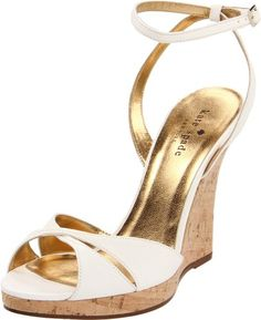 Amazon.com: Kate Spade New York Women's Vero Wedge Sandal: Shoes