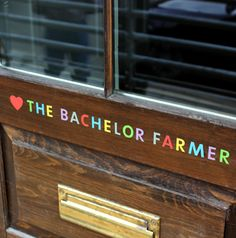The Bachelor Farmer- Minneapolis. Had my mind blown last night. Such fantastic favors! Best Dining, United States Travel, Minneapolis, Mind Blown, Farmer, Minnesota, Scandinavian, Places To Go, Favors