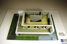 3D Druck eines Wohnhauses im Maßstab 1:50