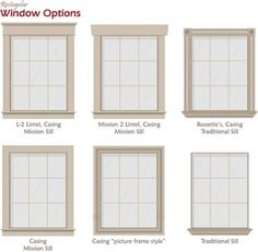 25 Astonishing Eksterior & Interior Window Trim Ideas for Your Dreamed House! - Home Decor Ideas Window Molding Trim, Craftsman Window Trim, Window Casing, Door Casing, Moldings And Trim, Window Sill Trim, Exterior Window Molding, Crown Molding, Traditional Windows