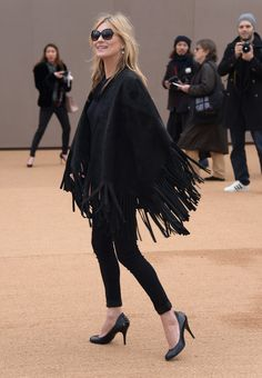 Kate Moss Photos: Burberry Prorsum AW 2015 Arrivals