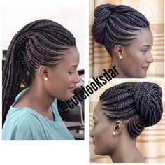 Fun and Beautiful Braided Hairstyles – HerHairdos Box Braids Hairstyles, Braids Hairstyles Pictures, African Hairstyles, Girl Hairstyles, Natural Hair Braids, Braids For Black Hair, Black Girl Braids, Natural Hair Styles, Short Hair Styles