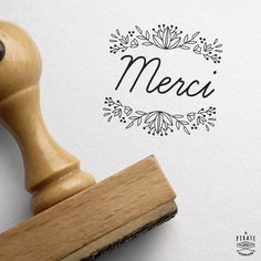 Custom Wedding Stamp - Wooden Made - Made in France by LaPirateShop Circus Vintage, Tampons, Marry Me, Save The Date, Our Wedding, Stationery, Typography, Place Card Holders, Invitations