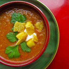 Weight Watchers Chicken Tortilla Soup recipe – 3 points