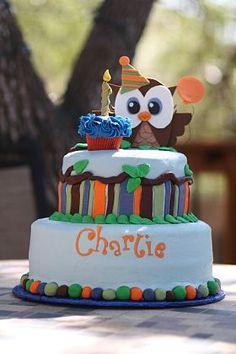 Boy 1st birthday cake