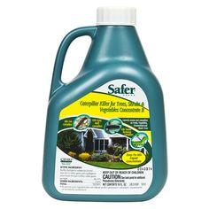 Safer Brand Caterpillar Killer Concentrate, 16 oz