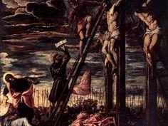 Crocifissione      Artista: Tintoretto     Dove: Chiesa di San Cassiano     Realizzazione: 1568 1568