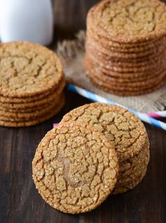 Chewy Molasses Cookies!