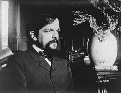 """claude debussy -""""Music is the expression of the movement of the waters, the play of curves described by changing breezes. Music is the silence between the notes."""""""