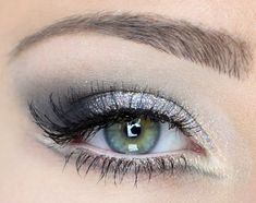 Silver shadow is the perfect icy look for winter.