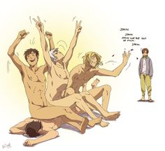 Bad Touch Trio (Spain, France, and Prussia), Austria and Romano