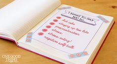 list journaling - Journaling made easy  --  If you don't have time for nightly page-long journaling about your day, this would be a great way to keep track of the things going on in your life.
