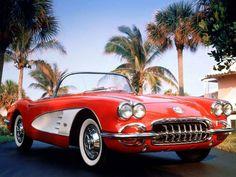 1959 Chevrolet Corvette C1 c-1 retro muscle supercar supercars    g
