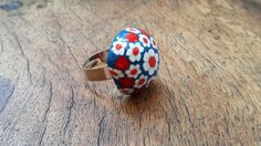 Anillo de arcilla polimérica realizado a mano por Angela Morales. Sígueme en: http://www.derepenteella.blogspot.com.es/ y consulta los precios en mi tienda online.
