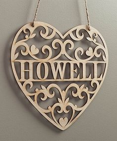 Another great find on #zulily! Loving Heart Personalized Wall Sign #zulilyfinds