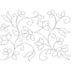 Risultati immagini per patrones para bordados mexicanos Mexican Embroidery, Crewel Embroidery, Hand Embroidery Patterns, Applique Patterns, Ribbon Embroidery, Floral Embroidery, Quilt Patterns, Bordado Floral, Free Motion Quilting