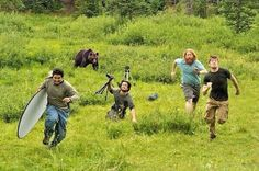 Behind the scenes of National Geographic. I just LOST it. HAHAHAHAHA