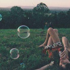 .festival . the grass . dusk