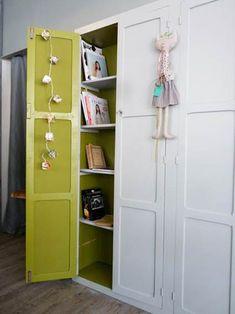 Color en el fondo de armario