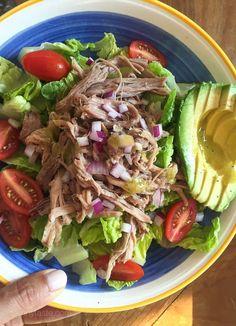 Just one of the many ways we enjoy eating leftover slow cooker Kalua Pork!