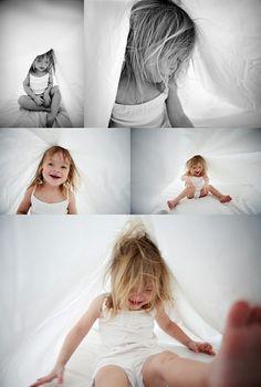 Child Indoor photo session.