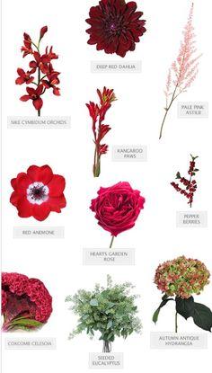 Red bouquet recipe