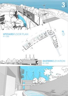 House on open architectural competition : House on open . - House on open architectural competition : House on open … – House on B - Architecture Panel, Architecture Graphics, Architecture Drawings, Architecture Design, Architecture Journal, Architecture Posters, Presentation Styles, Project Presentation, Presentation Boards