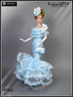 Tenue Outfit Accessoires Pour Barbie Silkstone Vintage Fashion Royalty 1164 | eBay