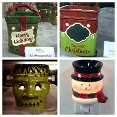 The new Scentsy Holiday collection for 2012 coming soon...wicklesschic @aol.com