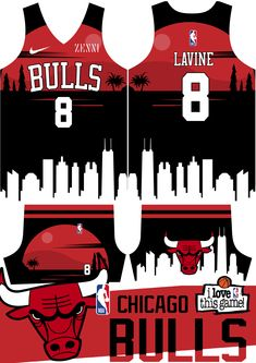 Volleyball Jersey Design, Volleyball Jerseys, Sports Jersey Design, Basketball Design, Basketball Uniforms, Love And Basketball, Wizards Basketball, Chicago Bulls Basketball, Basketball Jersey