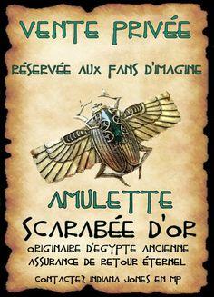 affiche scarabée