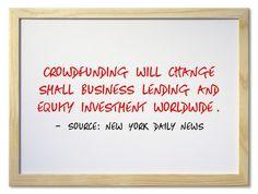 Crowdfunding Will Change