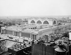 What Penn Station used to look like will make you weep with longing 1910